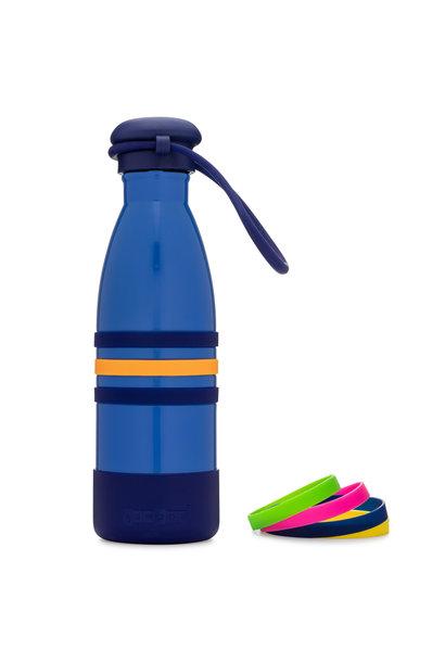 Yumbox Aqua thermo fles blauw