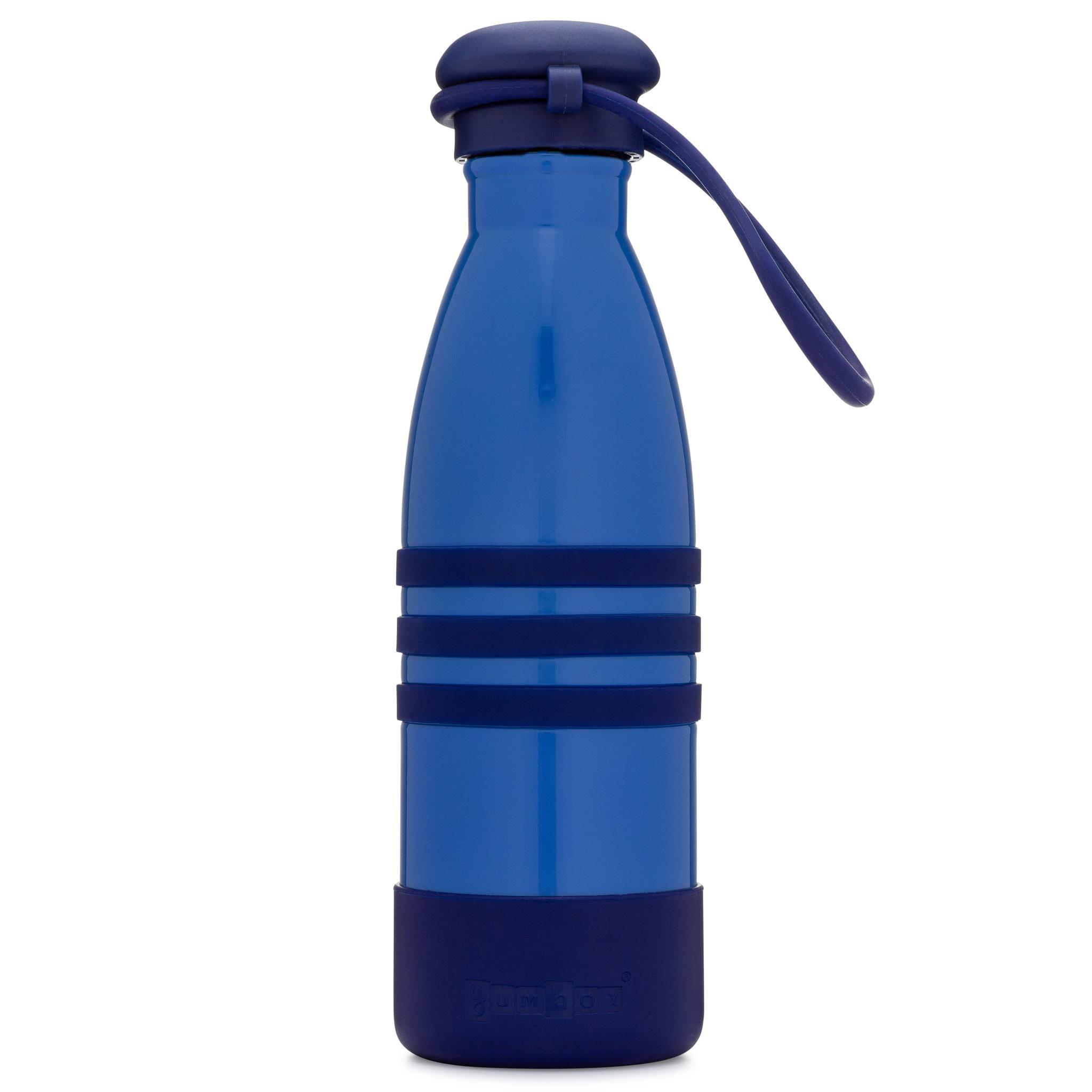 Yumbox Aqua thermos fles blauw-3