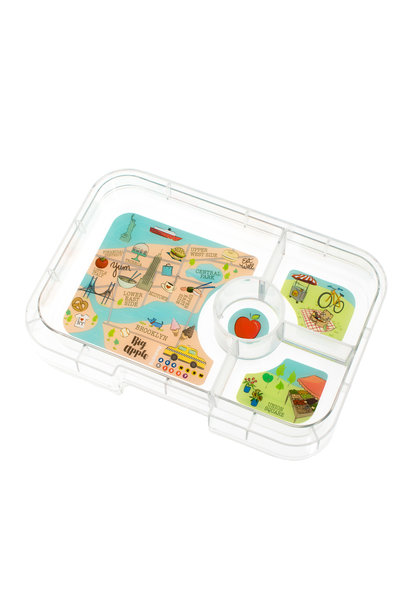Yumbox Tapas tray 4-sections NYC