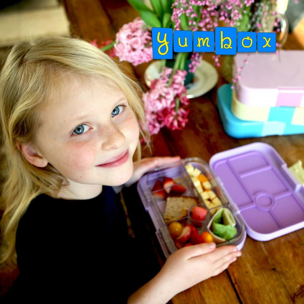 Yumbox Original 6-sections Lila purple / Paradise tray-4