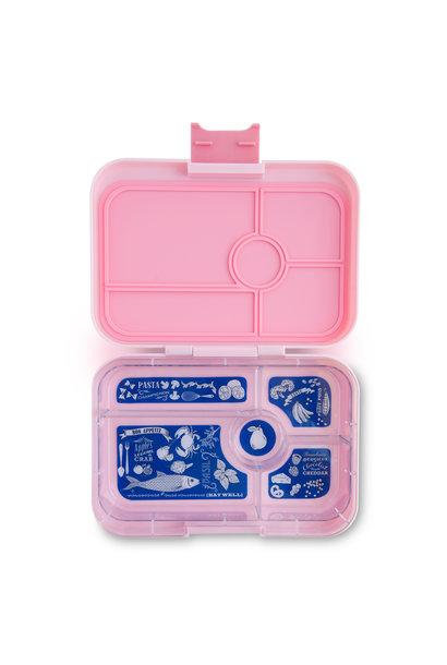 Yumbox Tapas XL 5-sections Amalfi pink