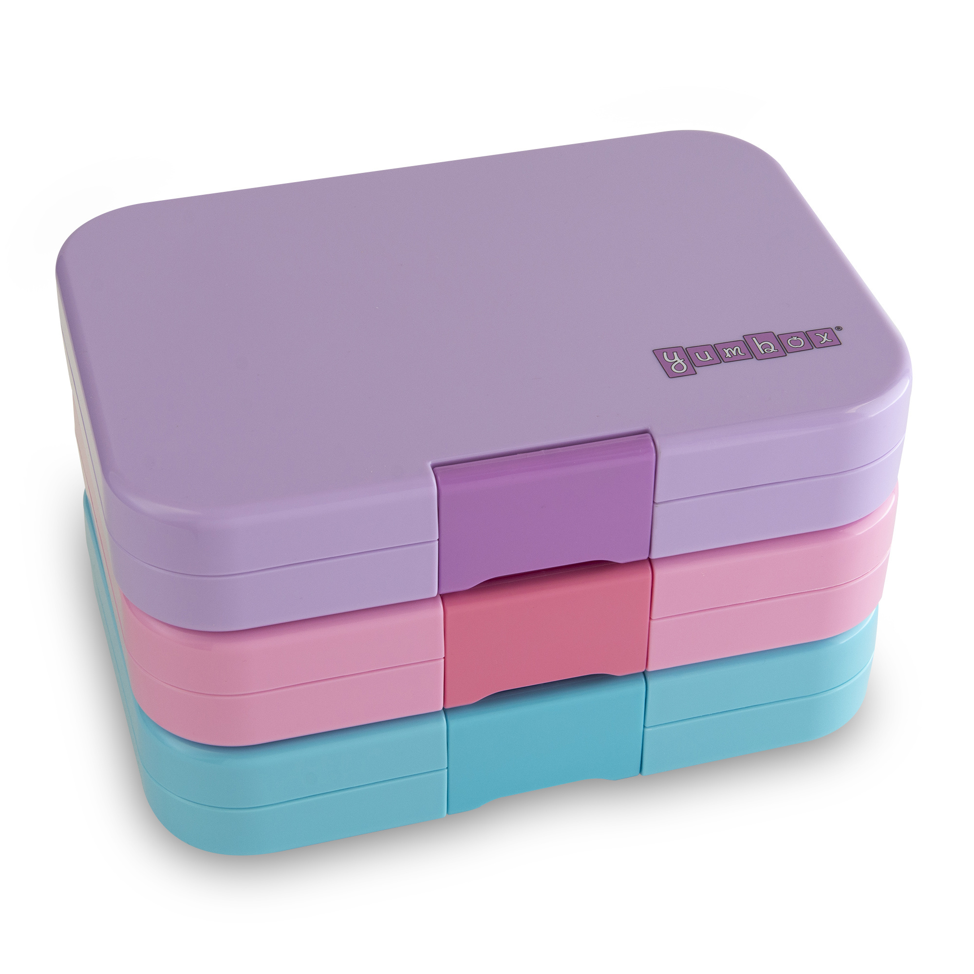 Yumbox Tapas XL 5-sections Stardust pink / Bon appetit tray-3