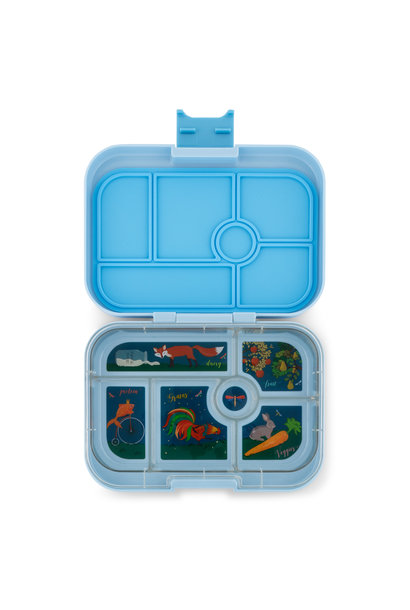 Yumbox Original 6-sections Luna blue