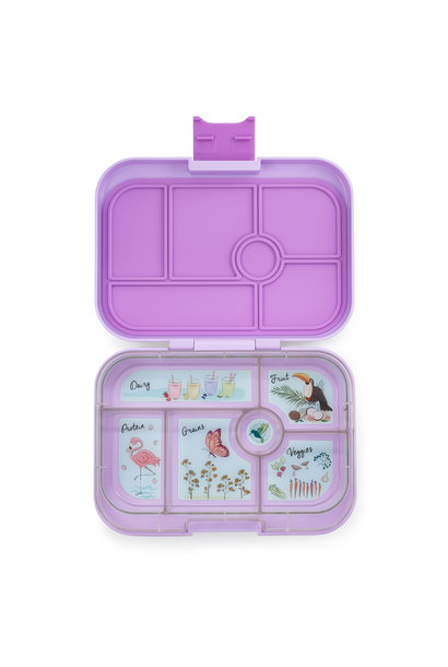 Yumbox Original 6-sections Lila purple