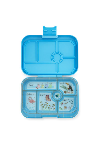 Yumbox Original 6-sections Nevis blue