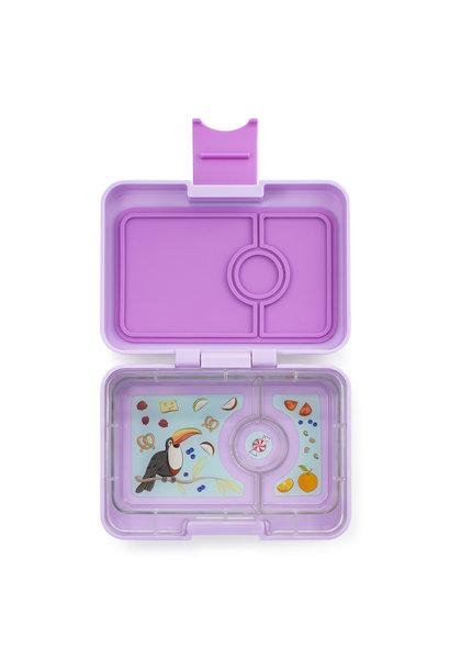 Yumbox MiniSnack 3-sections Lila purple