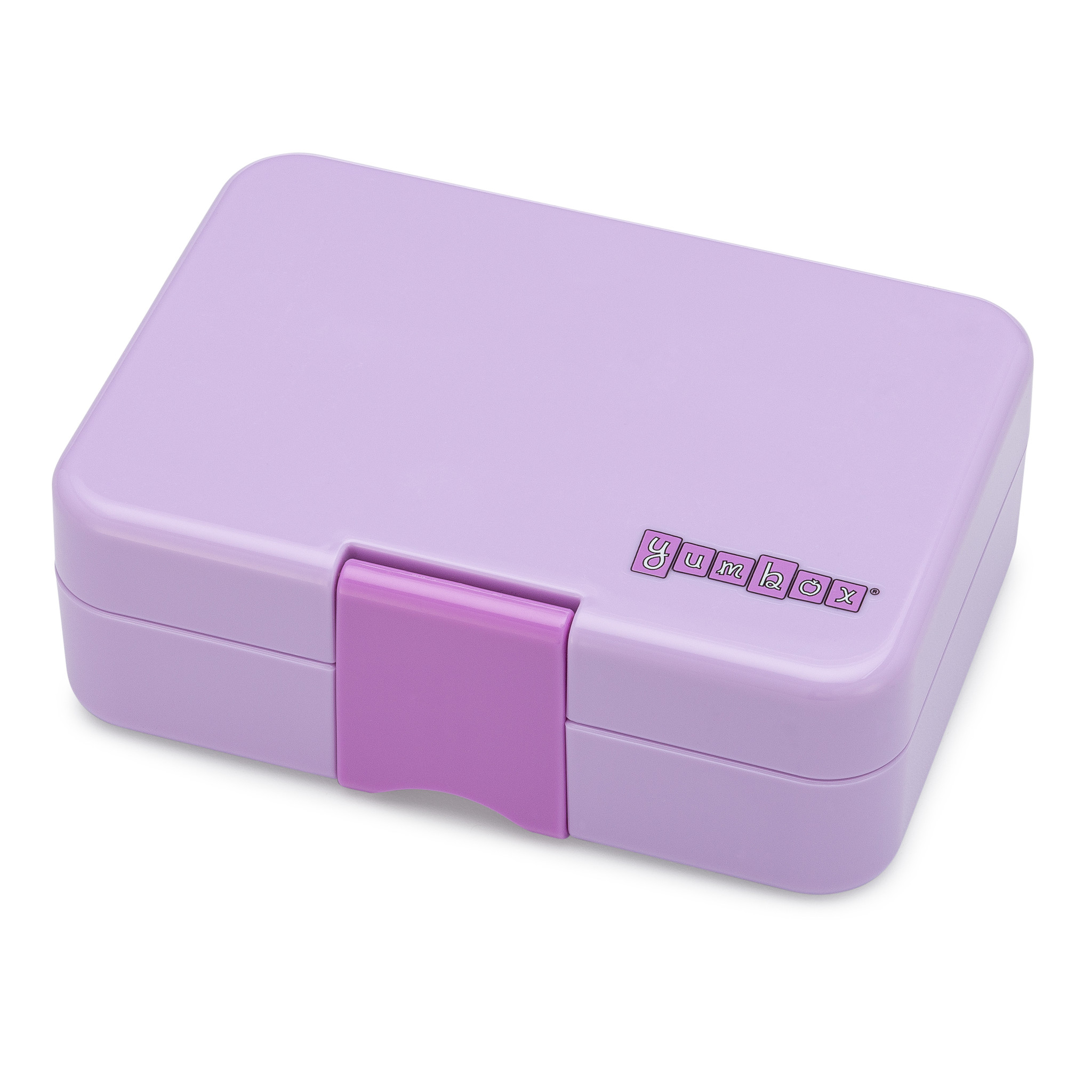 Yumbox MiniSnack 3-sections Lila purple / Toucan tray-4