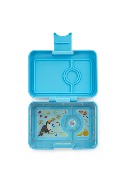 Yumbox MiniSnack 3-sections Nevis blue