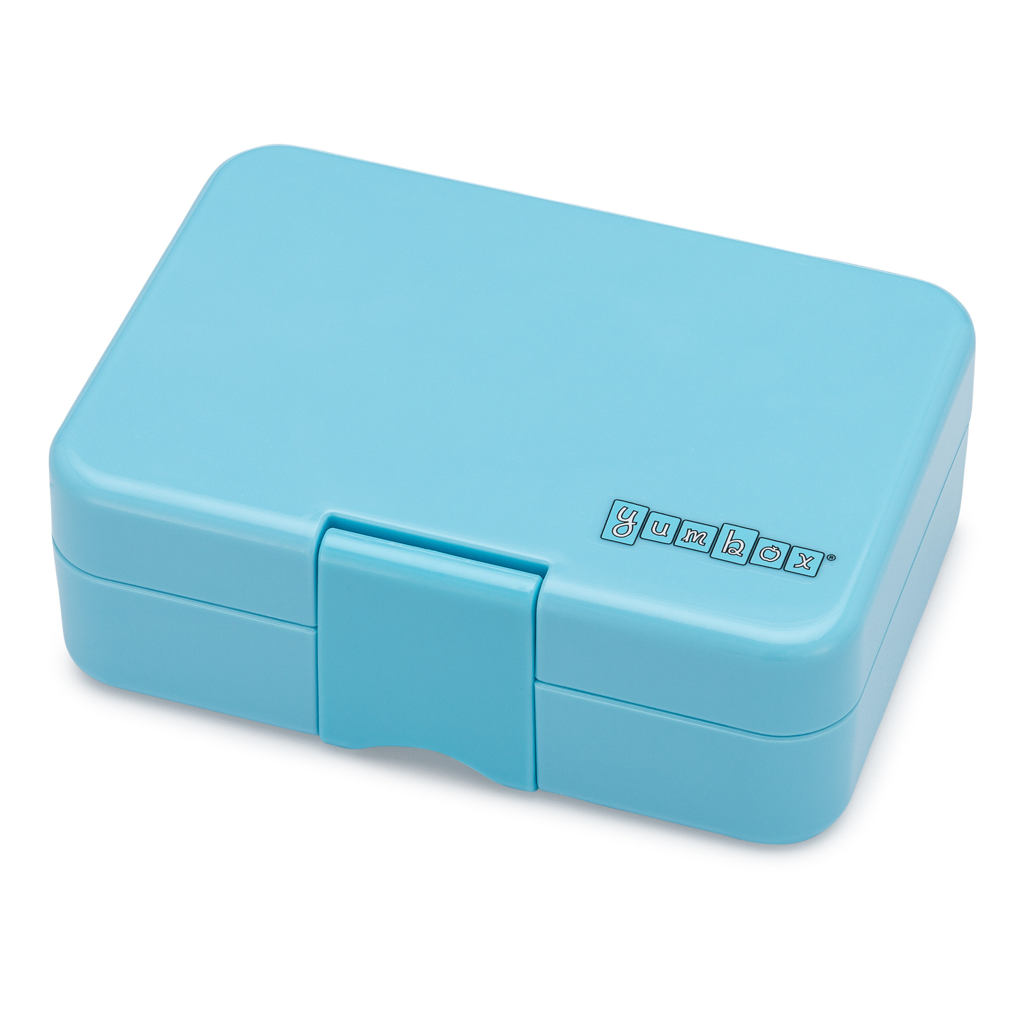 Yumbox MiniSnack 3-sections Nevis blue / Toucan tray-4