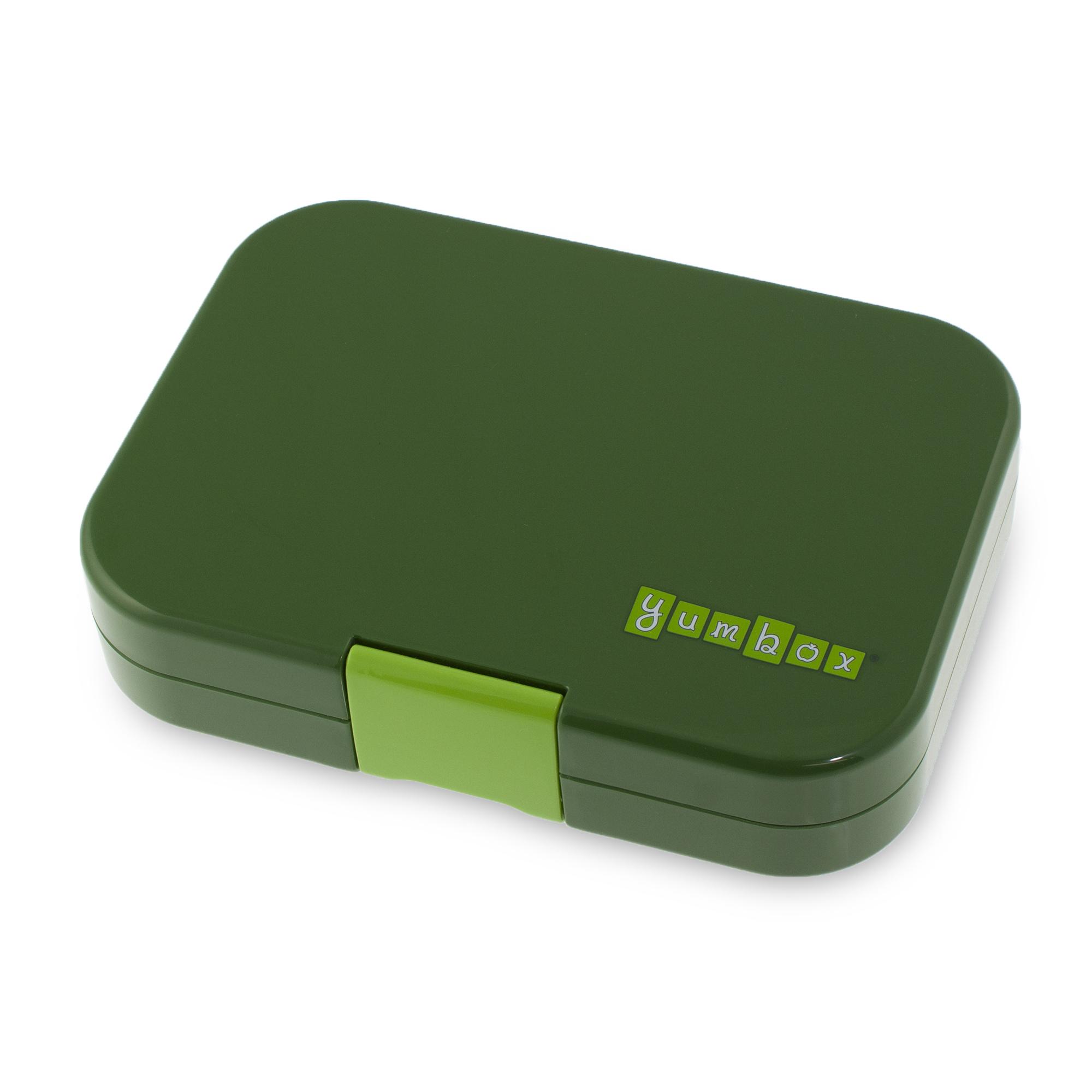 Yumbox Original 6-sections Brooklyn green / NYC tray-3