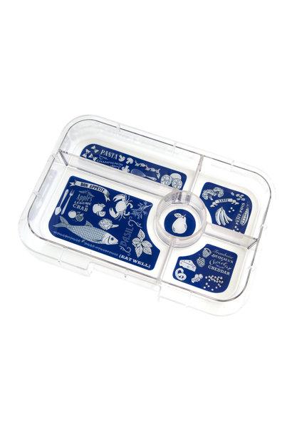 Yumbox Tapas tray 5-sections Bon appetit