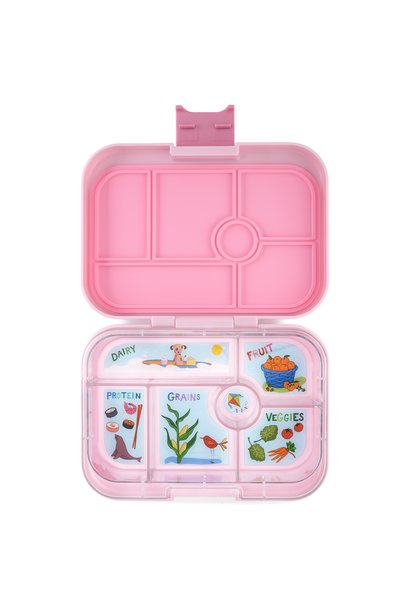 Yumbox Original 6-sections Hollywood pink