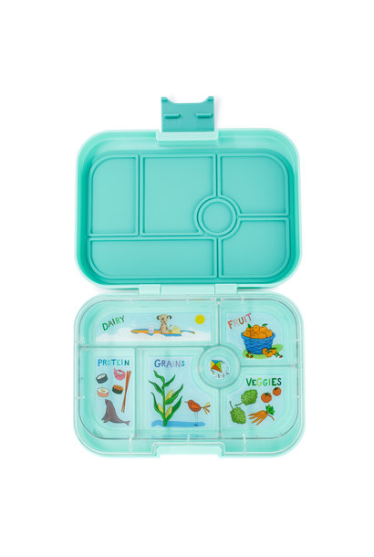 Yumbox Original 6-sections Surf mint