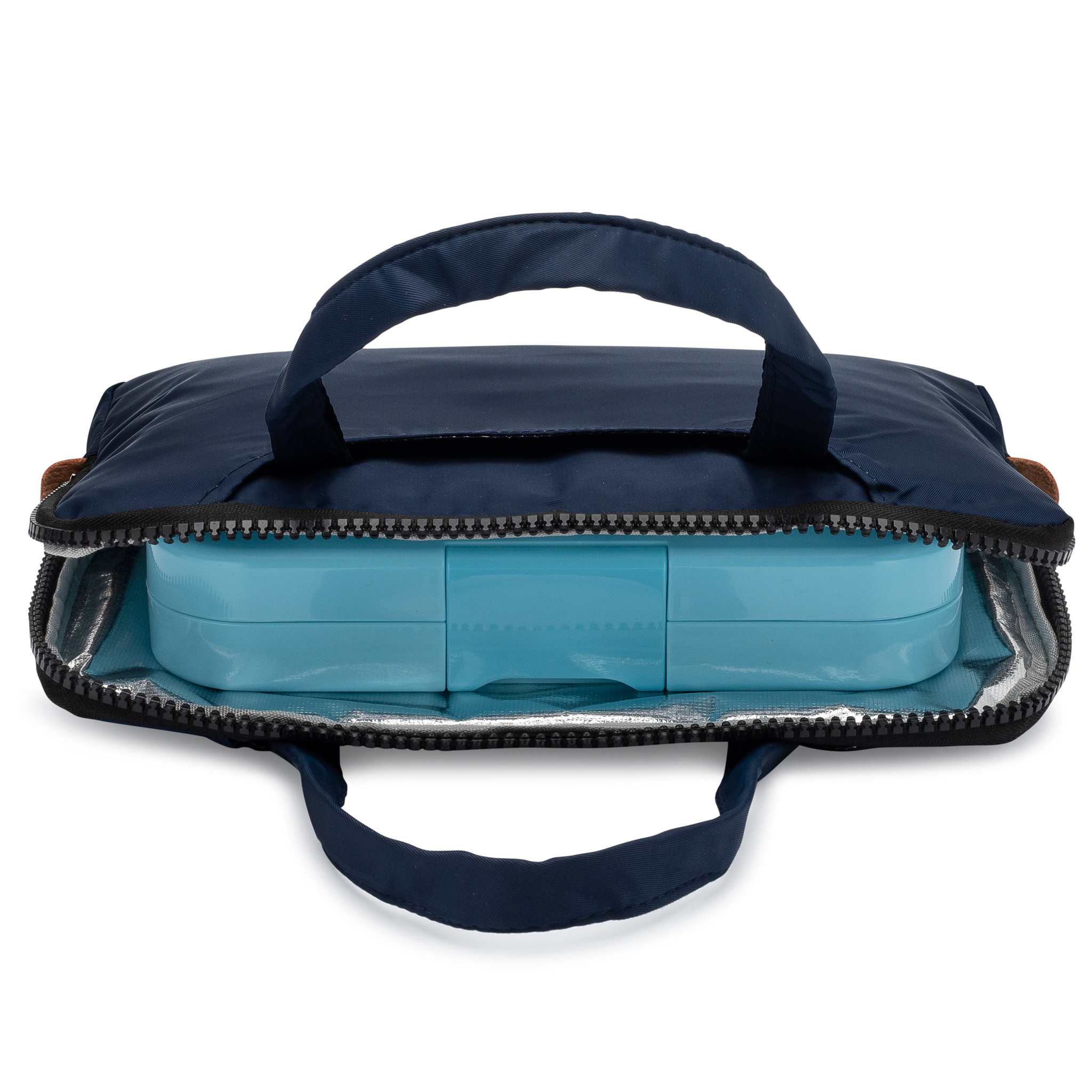 Yumbox Poche insulating sleeve  with Handles Navy-2