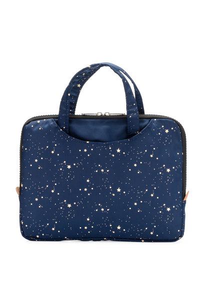 Yumbox Poche met handgrepen marineblauw / gouden sterren