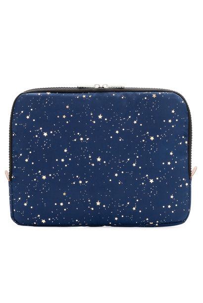 Yumbox Poche marineblauw / gouden sterren
