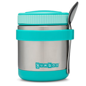 Yumbox Zuppa thermos container Caicos Aqua with spoon