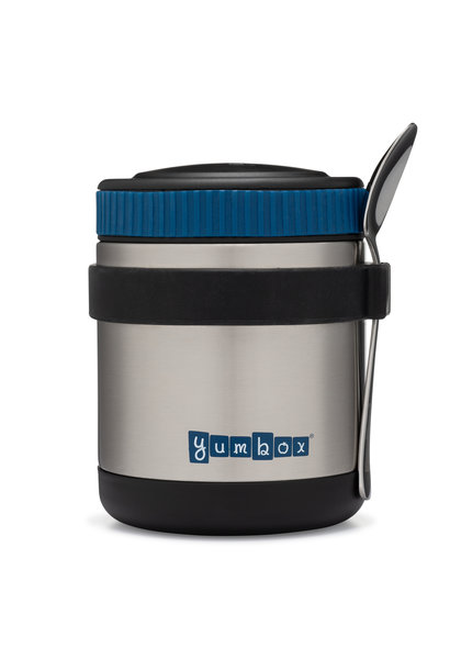 Yumbox Zuppa Twilight Black with spoon