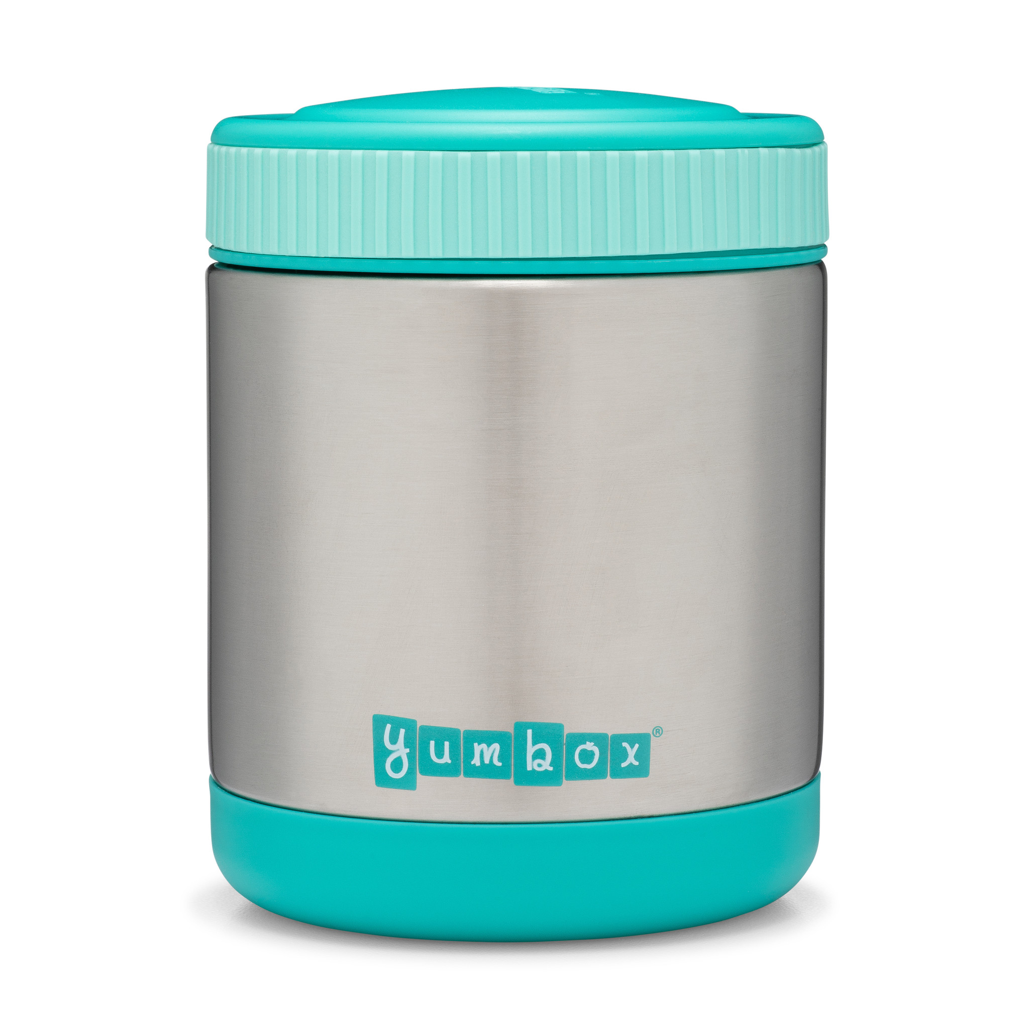 Yumbox Zuppa Caicos Aqua with spoon-5