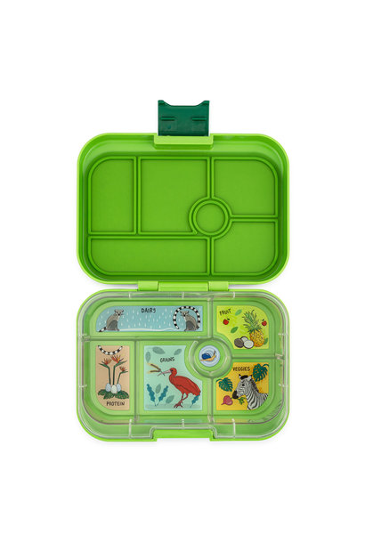 Yumbox Original 6-sections Congo Green/Jungle