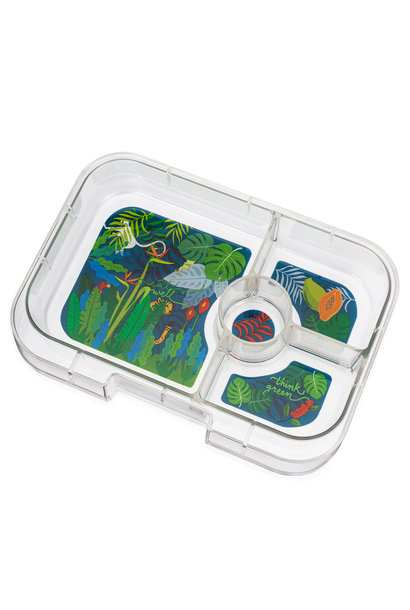 Yumbox Panino tray 4 sections Jungle
