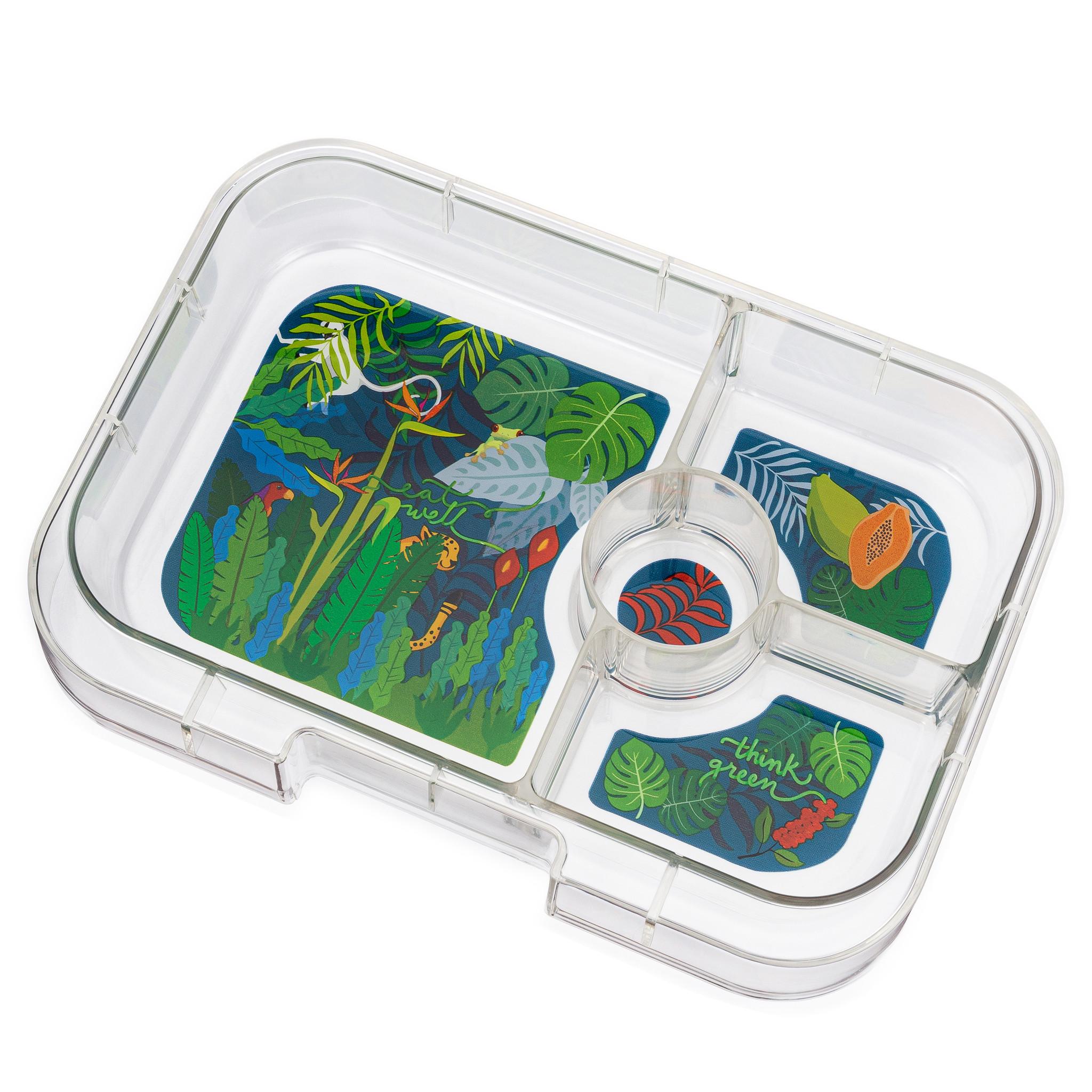 Yumbox Panino extra tray 4 sections Jungle-1