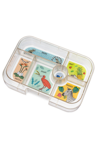 Yumbox Original tray 6-vakken Jungle