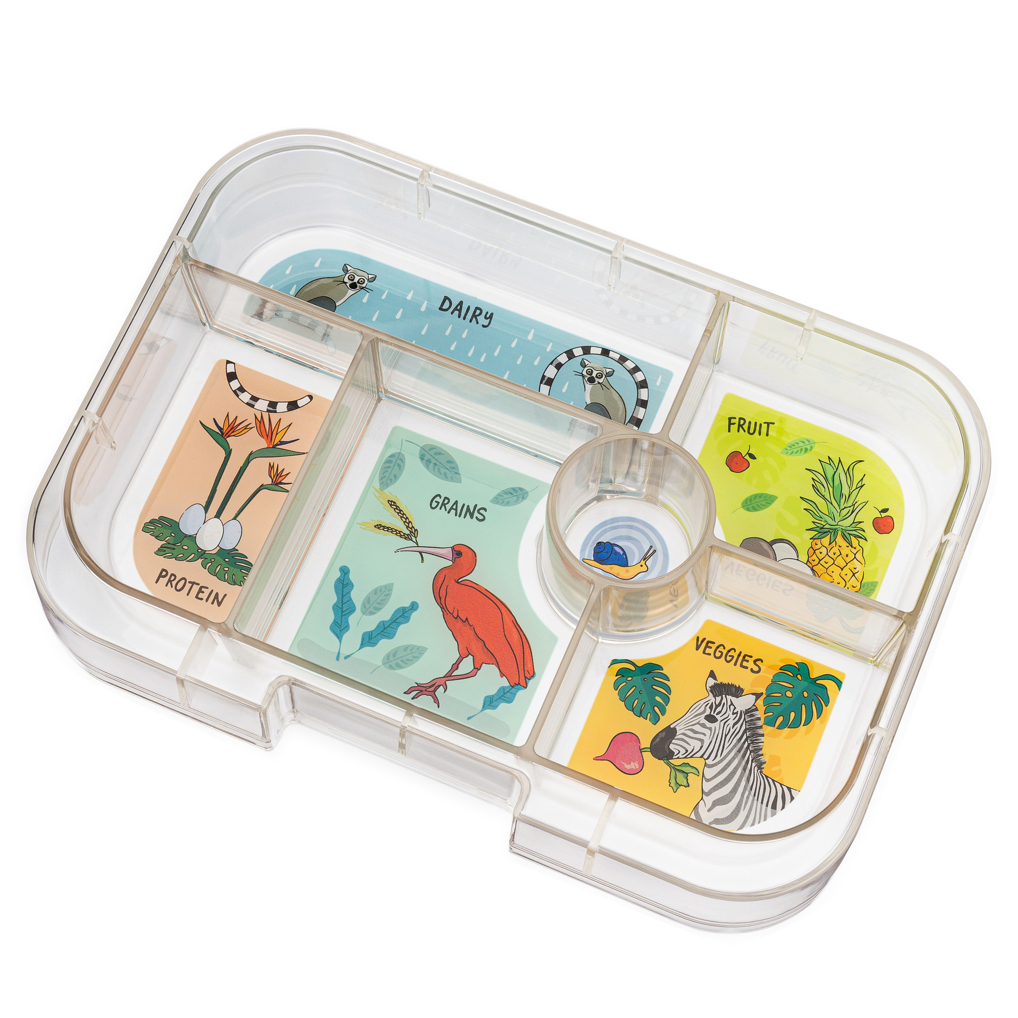 Yumbox Original extra tray 6-vakken Jungle-1