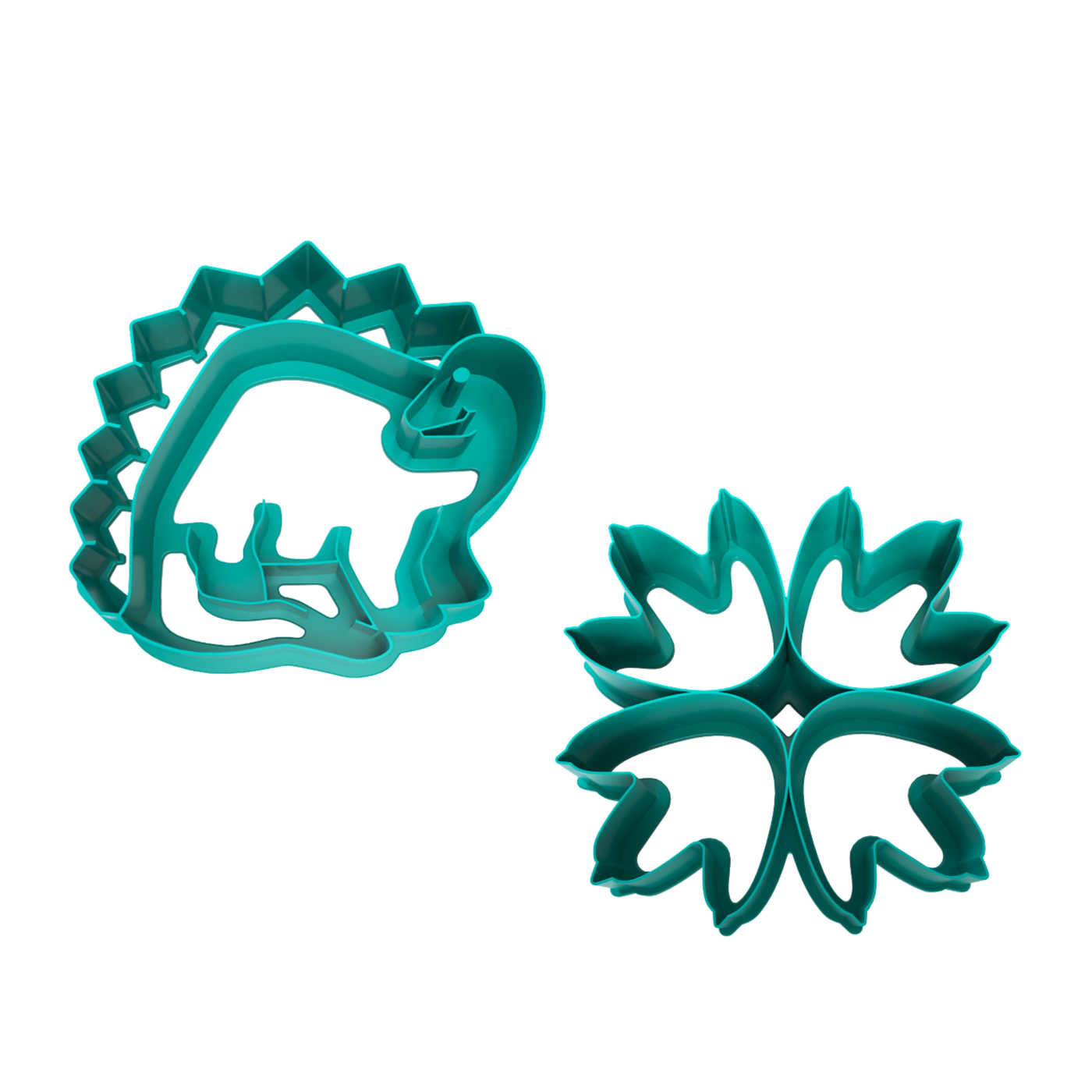 Lunch Punch Sandwich Cutters - Dino-1