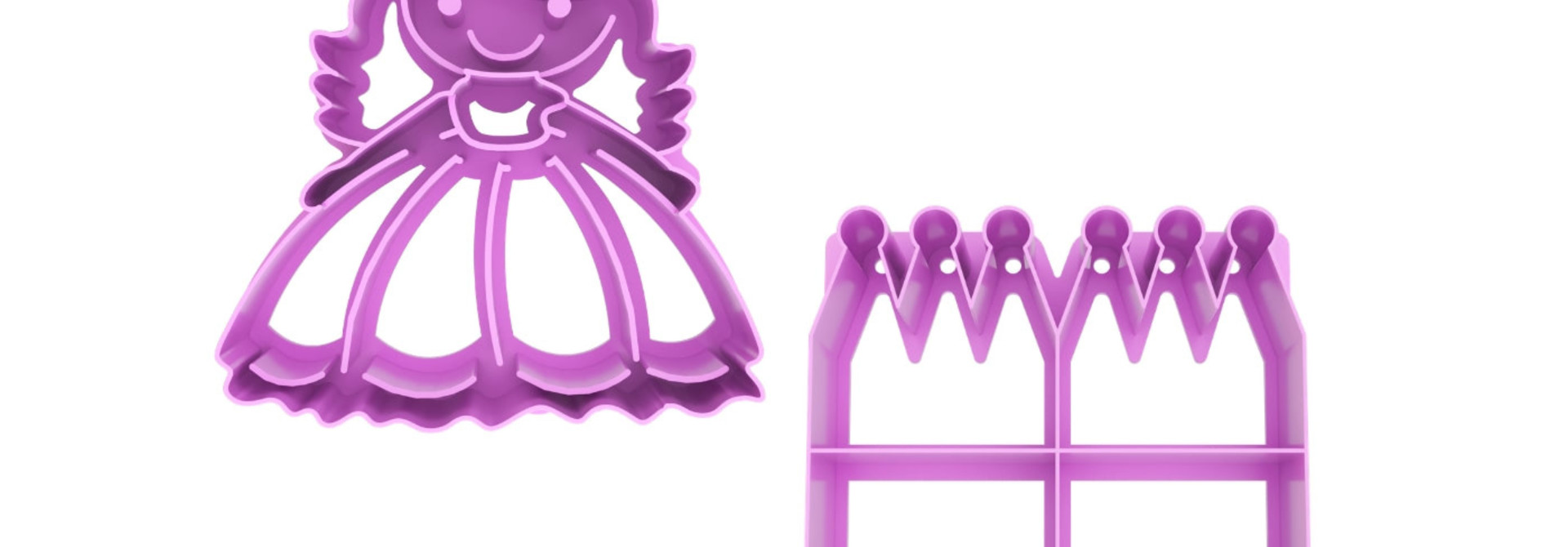 Lunch Punch Sandwich Cutters - Princess