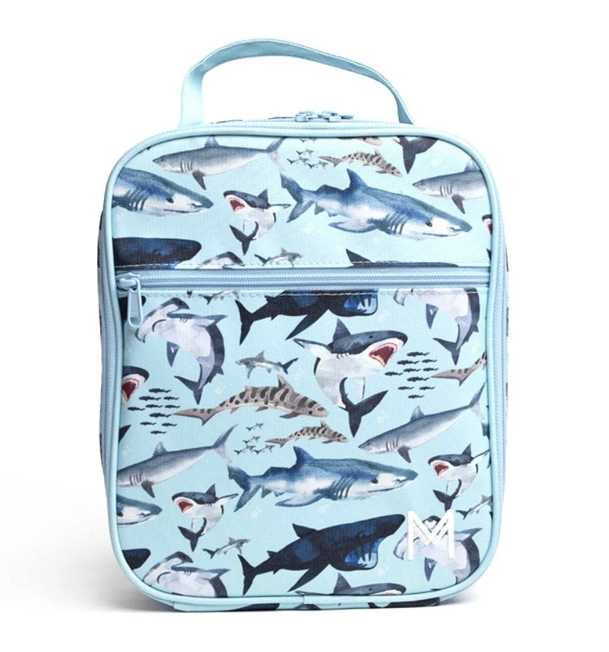 Montii insulated Lunch Bag - Shark-1