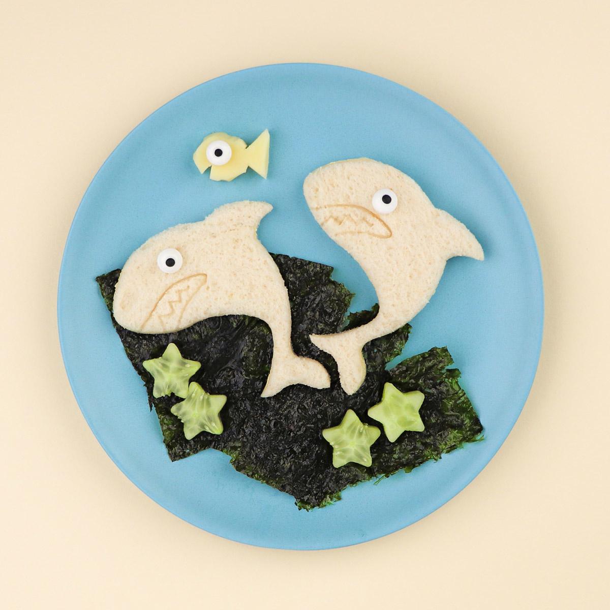 Lunch Punch Sandwich Cutters - Shark-3