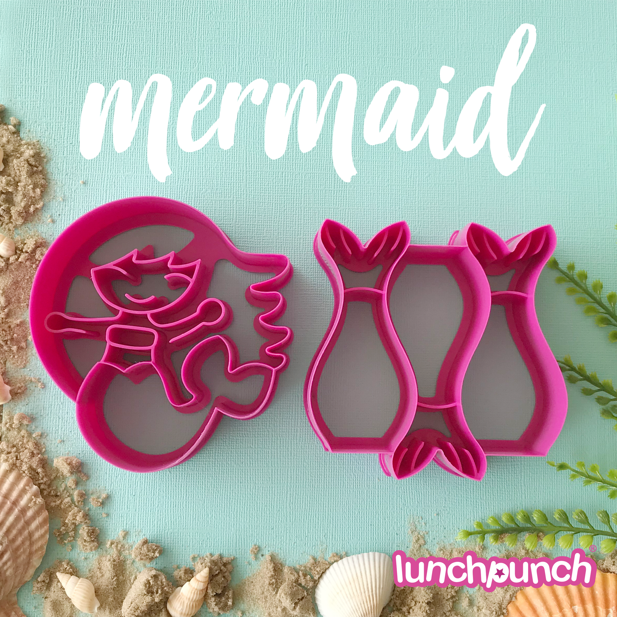 Lunch Punch Sandwich Cutters - Meermaid-8