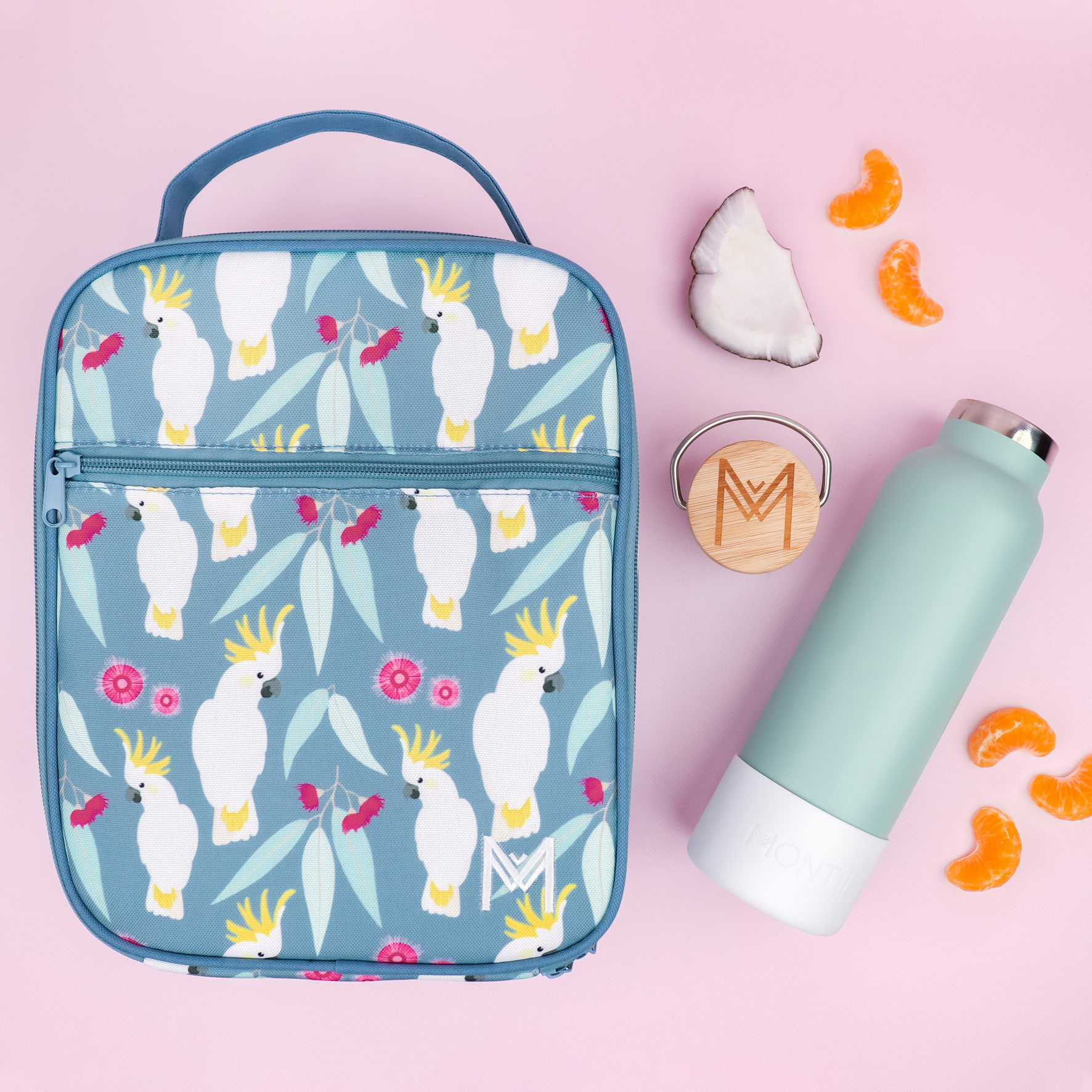 Montii insulated Lunch Bag - Cockatoo-3