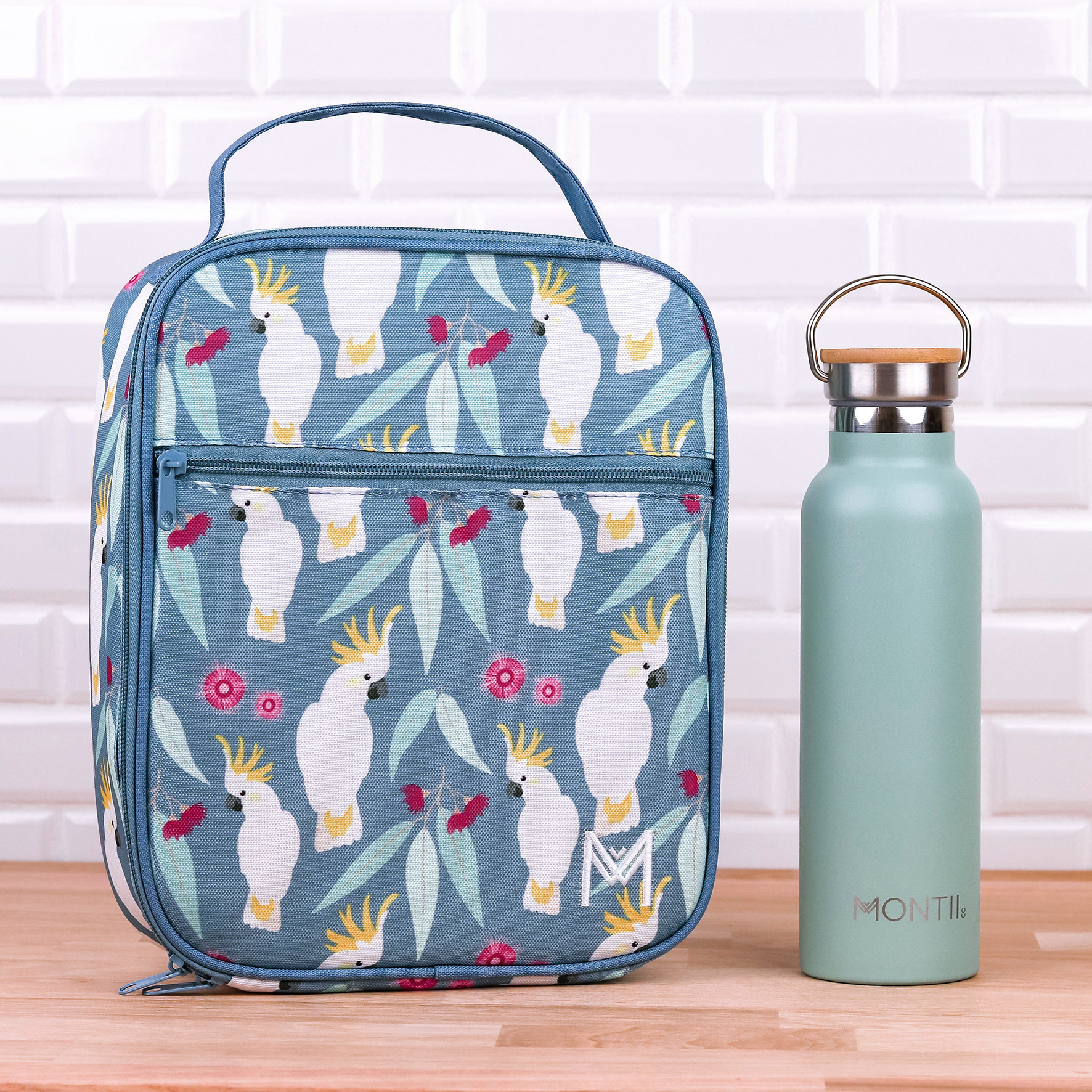 Montii insulated Lunch Bag - Cockatoo-4