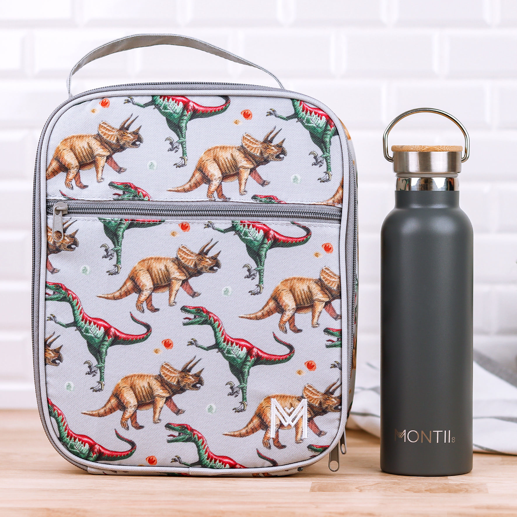 Montii insulated Lunch Bag - Dino-4