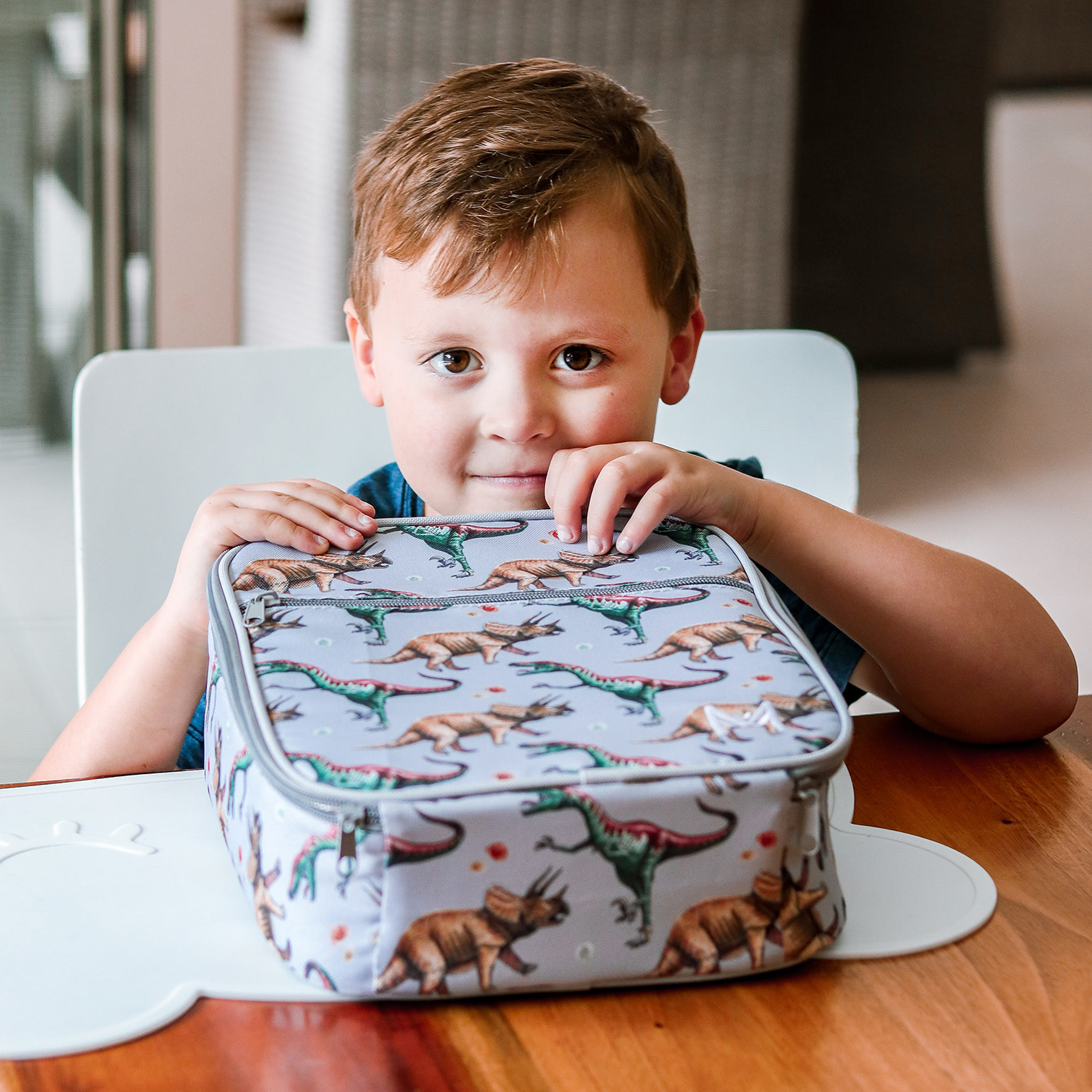 Montii insulated Lunch Bag - Dino-5