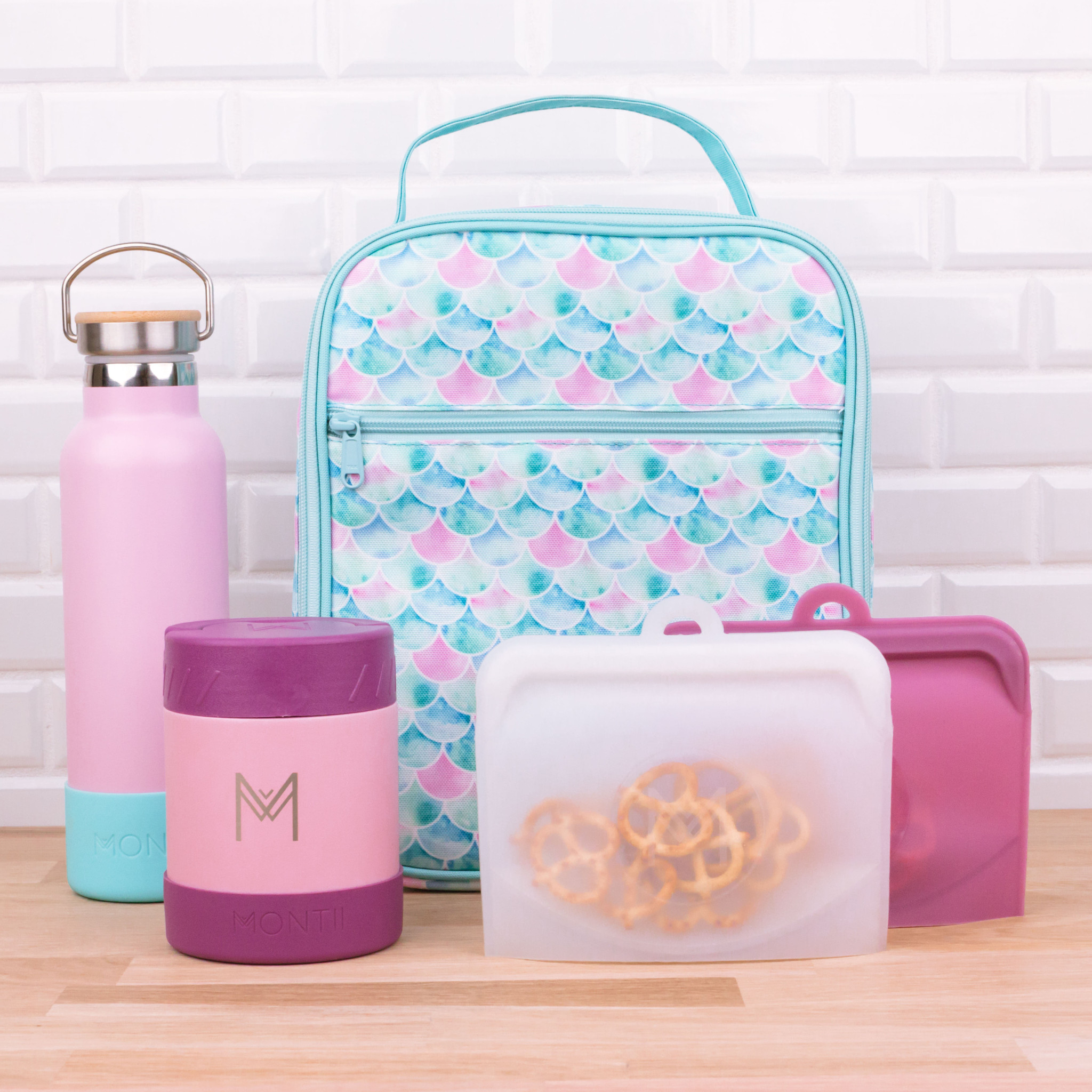 Montii insulated Lunch Bag - Meermaid-6