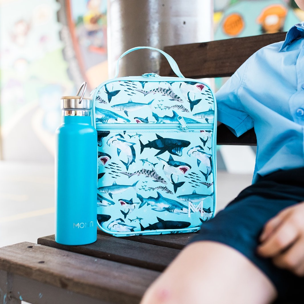 Montii insulated Lunch Bag - Shark-2