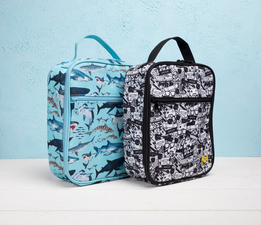 Montii insulated Lunch Bag - Shark-4