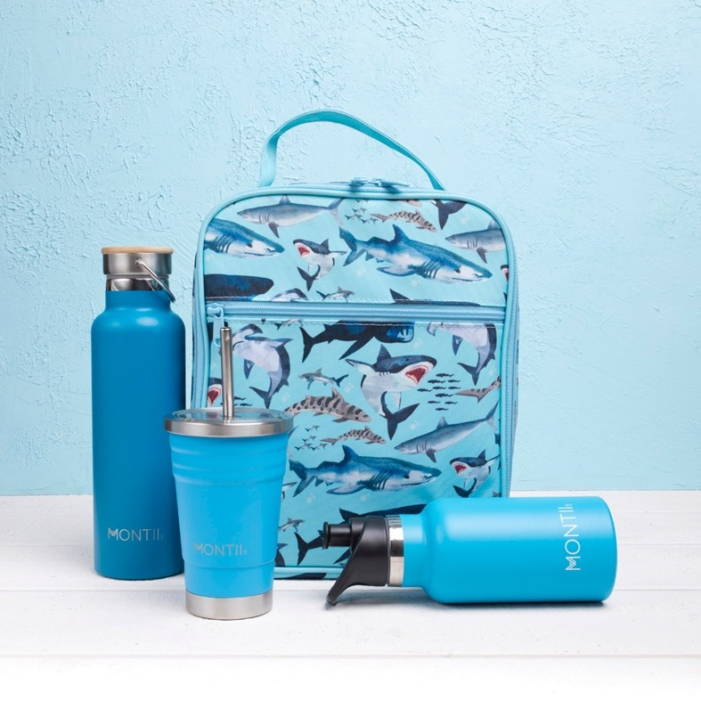 Montii insulated Lunch Bag - Shark-6