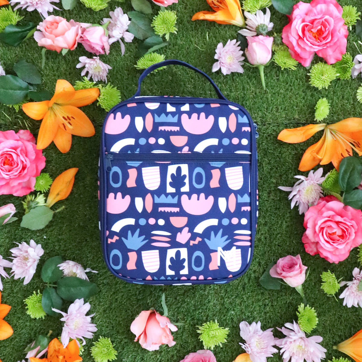Montii insulated Lunch Bag - Bloom-4