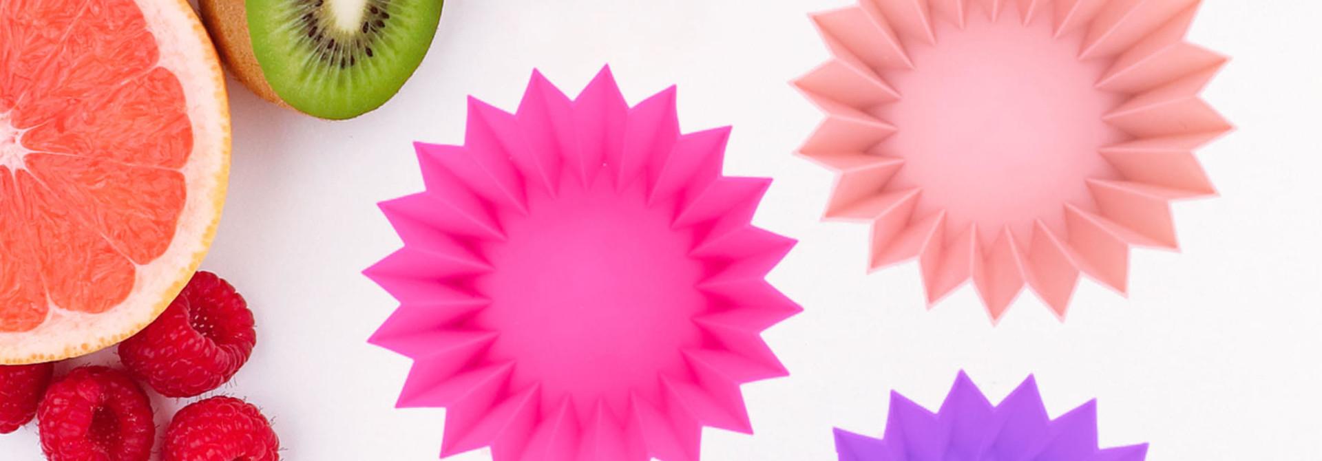 Lunch Punch Siliconen vormpjes roze