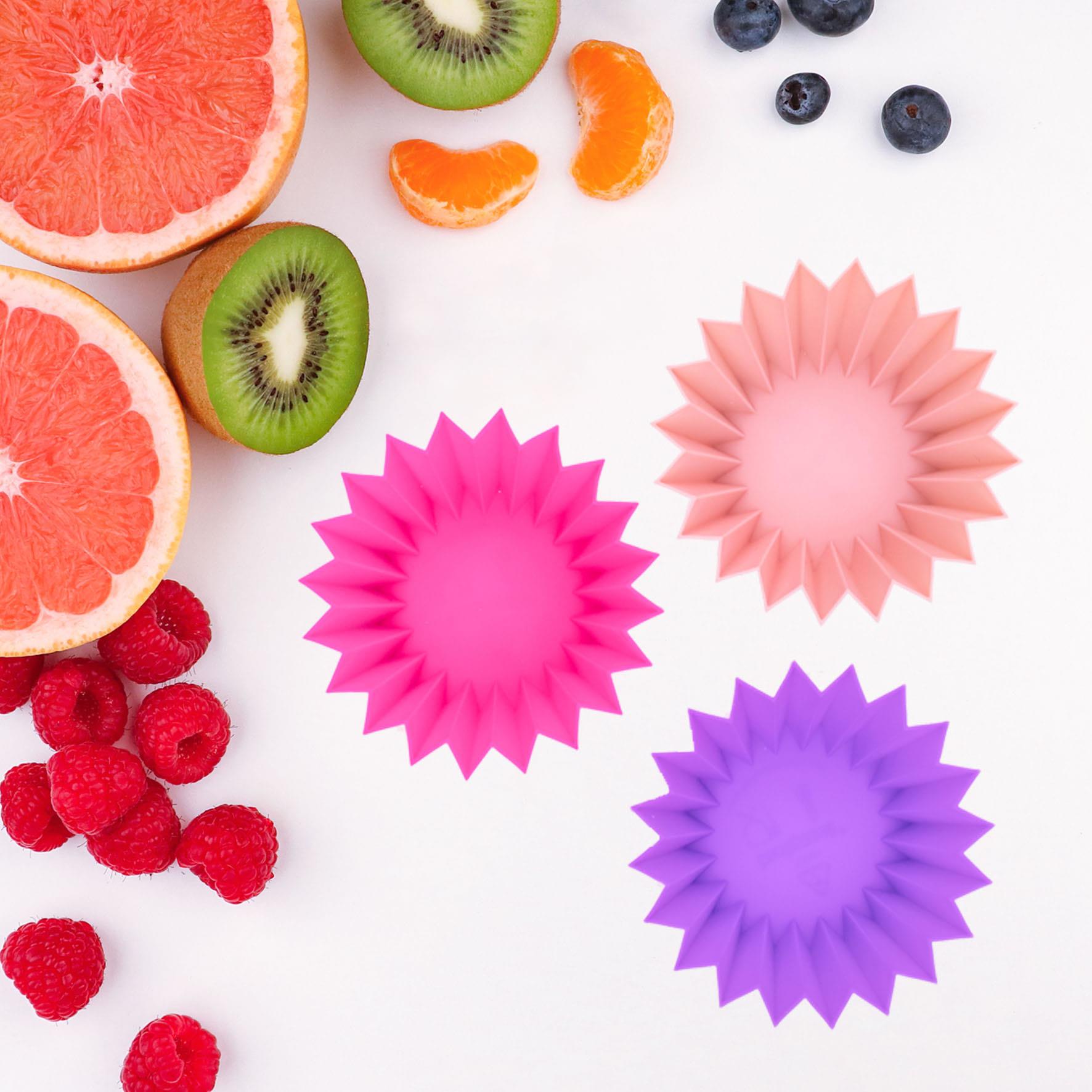 Lunch Punch Siliconen vormpjes roze-1