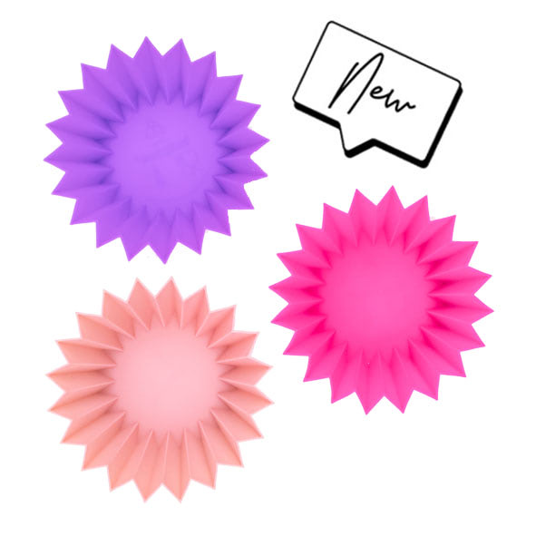 Lunch Punch Silicone Cups Pink-5