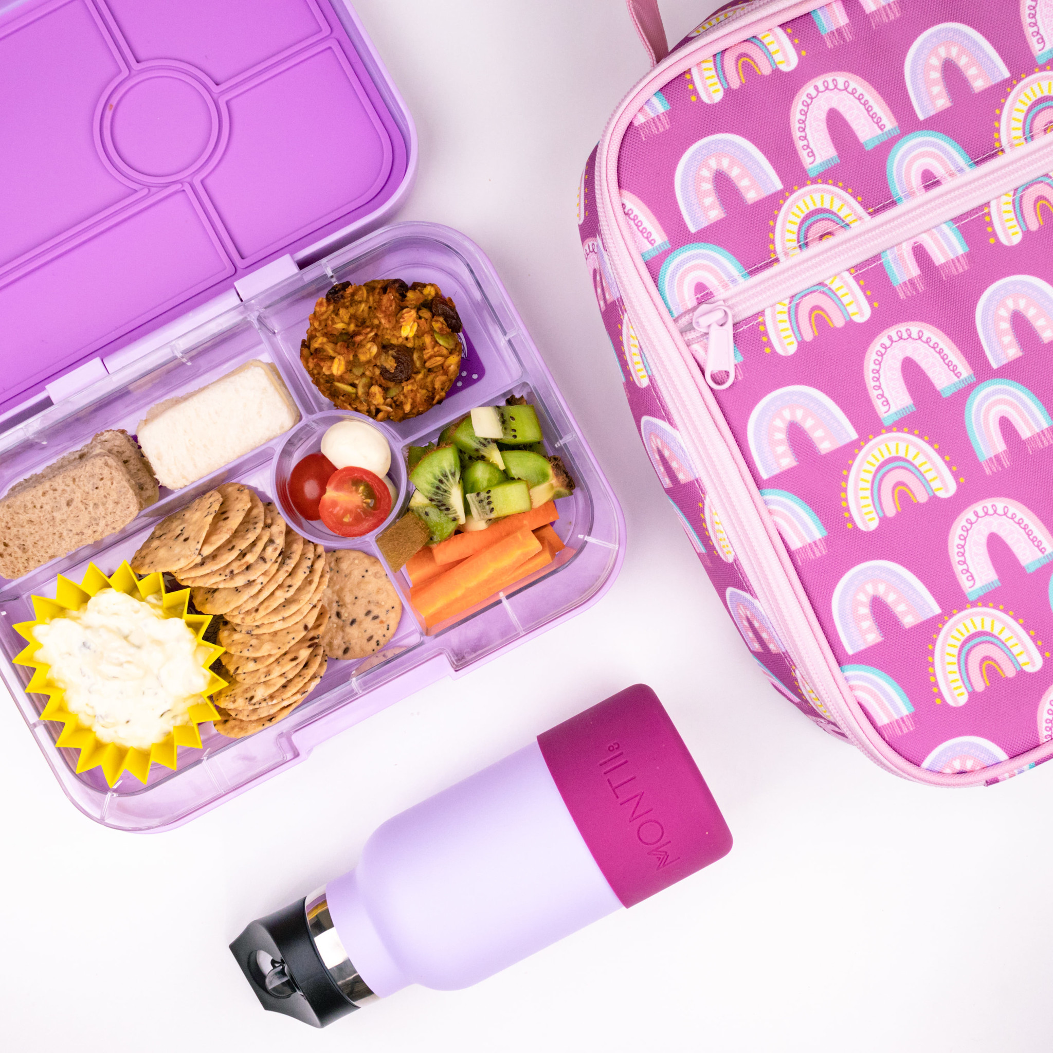 Lunch Punch Siliconen vormpjes roze-6