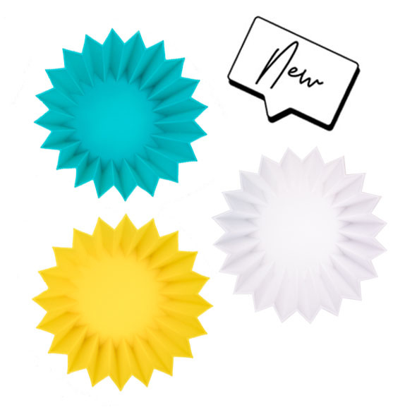 Lunch Punch Silicone Cups Yellow-4
