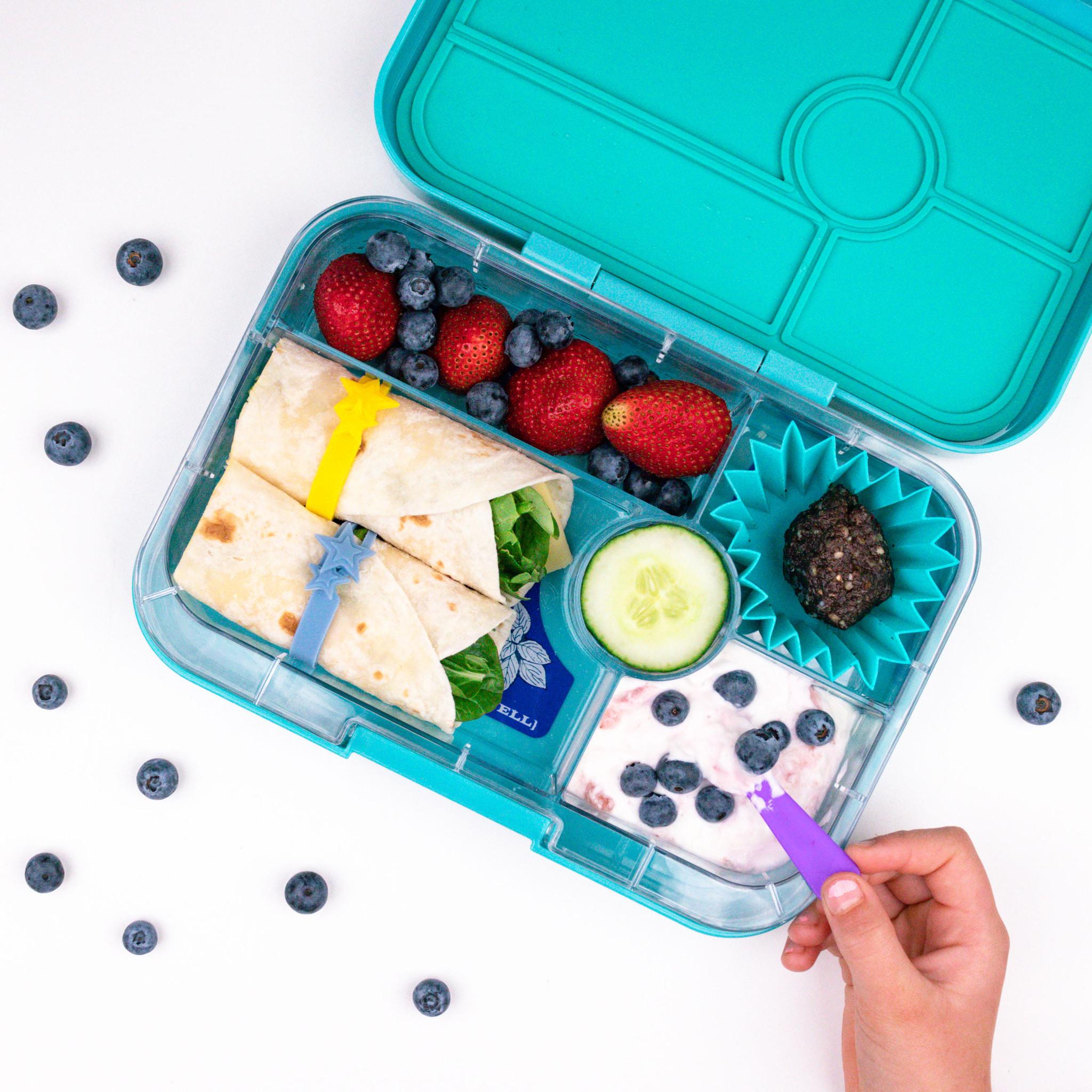 Lunch Punch Siliconen vormpjes blauw-5