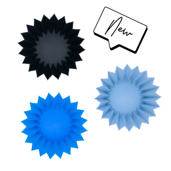 Lunch Punch Silicone Cups Blue-4