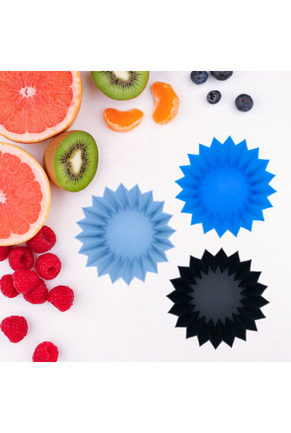 Silicone Cups Blue